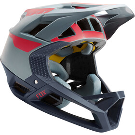 Fox Proframe Quo Helm Herren light blue